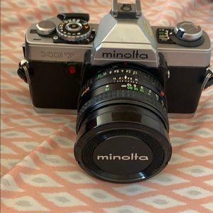 Vintage Minolta XG7 with 50 mm lents